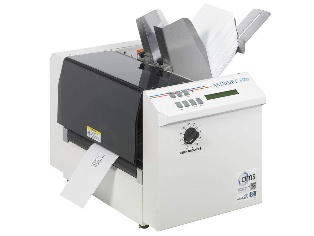 envelope printers mailing packaging equipment ams uk With envelope label printer