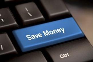 Save Money button key
